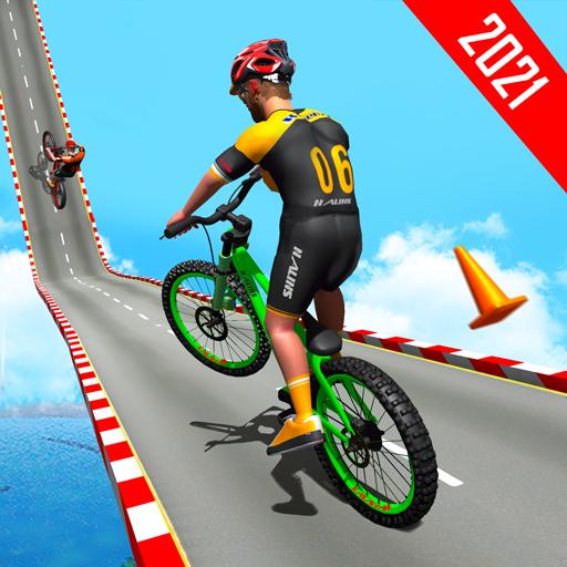 BMX Bicycle Racing Stunts 3D Mega Ramp Cycle Games  Apk Pro Mod latest 2.6