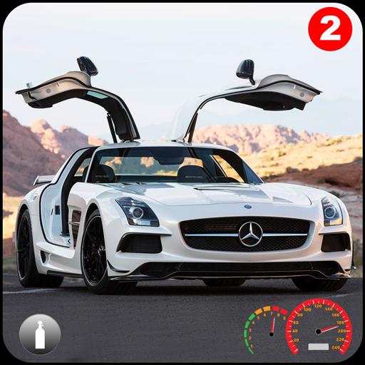 Benz SLS AMG: Extreme City Stunts Drive & Drifts Apk Mod latest 1.4