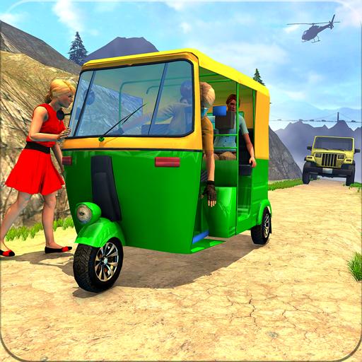 Chingchi Game Simulator : Crazy Tuk Tuk Rickshaw  Apk Pro Mod latest
