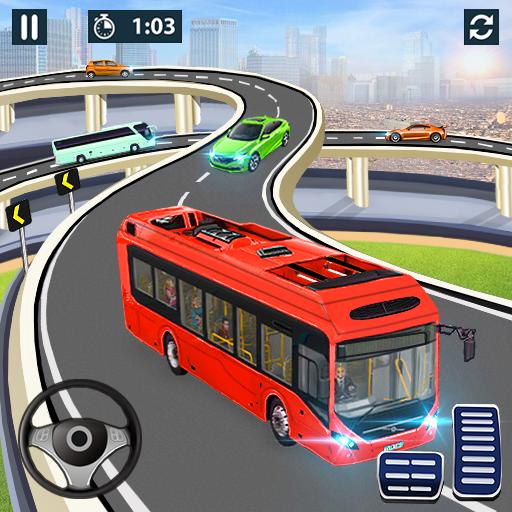 City Coach Bus Simulator 2021 – PvP Free Bus Games  1.3 Apk Mod (unlimited money) Download latest