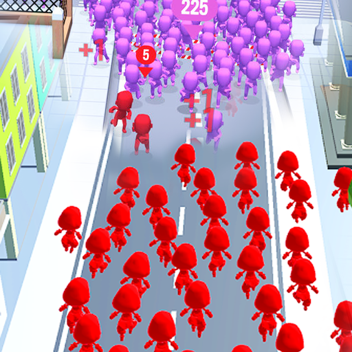 Crowd Run – City Of Wars  Apk Pro Mod latest 0.9