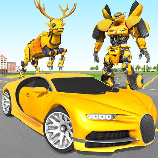 Deer Robot Car Game – Robot Transforming Games Apk Pro Mod latest 1.0.7