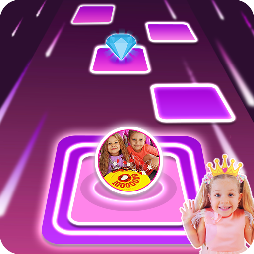 Diana and Roma Tiles hop for kids Apk Pro Mod latest 3.0