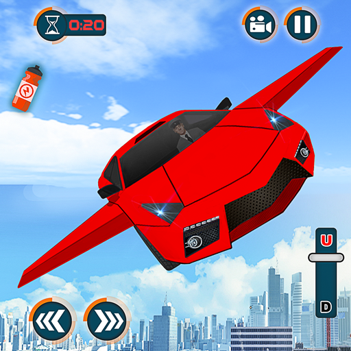 Flying Car Shooting Games – Drive Modern Cars Game Apk Pro Mod latest 1.7