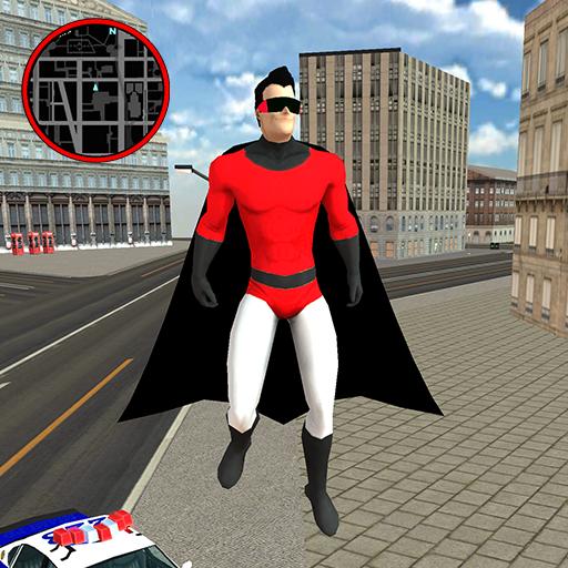 Flying SuperHero Rope Vegas Rescue Apk Pro Mod latest 2.3