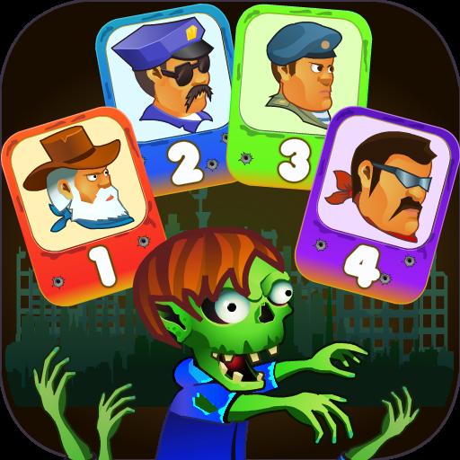 Four guys & Zombies (four-player game) Apk Mod latest 1.0.2