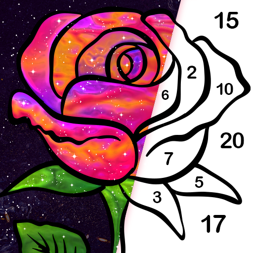 Gallery Coloring Book & Decor Color By Number Apk Pro Mod latest 5.0