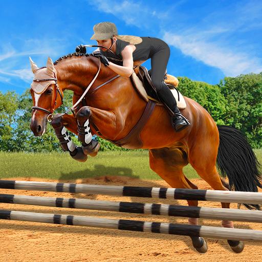 Horse Riding Simulator 3D : Jockey Mobile Game  Apk Mod latest 1.4