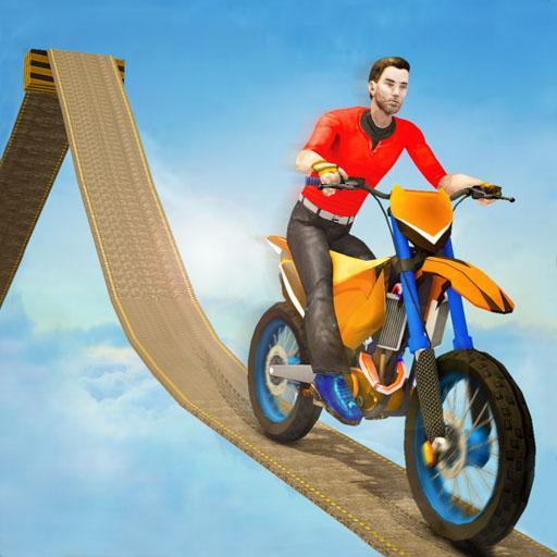 Impossible Bike Track Stunt Games 2021: Free Games Apk Mod latest 2.0.1