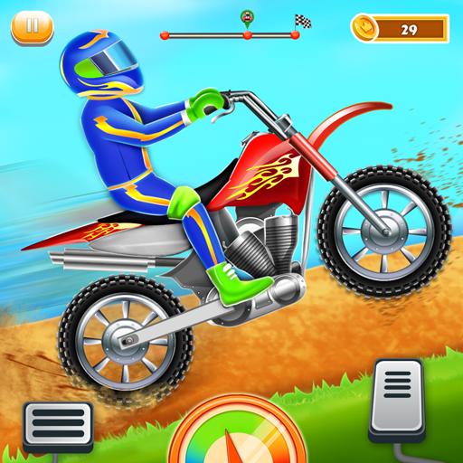 Kids Bike Hill Racing: Free Motorcycle Games Apk Mod latest 0.9
