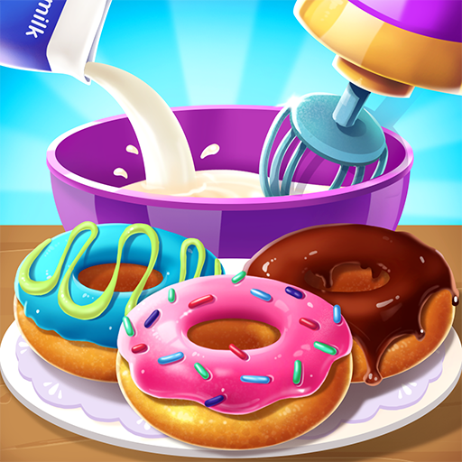 🍩🍩Make Donut – Interesting Cooking Game  5.6.5052 Apk Mod (unlimited money) Download latest