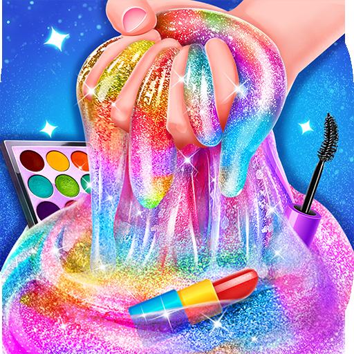 Makeup Slime – Fluffy Rainbow Slime Simulator  Apk Pro Mod latest 1.6.1