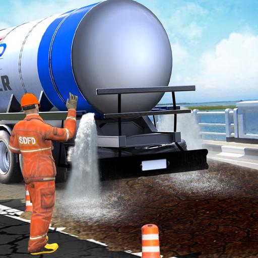 Mega City Road Construction Machine Operator Game  Apk Pro Mod latest 3.9