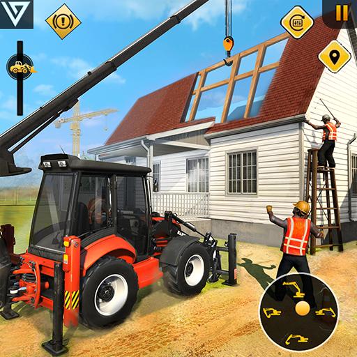 Mobile Home Builder Construction Games 2021  Apk Pro Mod latest