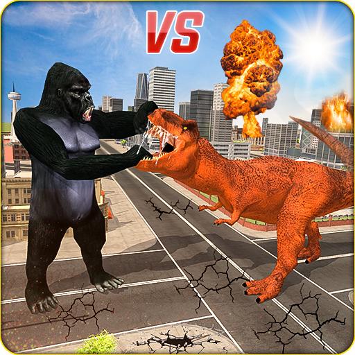 Monster Dino Vs King Kong-City Rampage Simulator Apk Mod latest 1.0.4