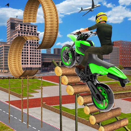 Moto Bike Stunts Race 2020: Free Motorcycle Games  Apk Mod latest 1.8