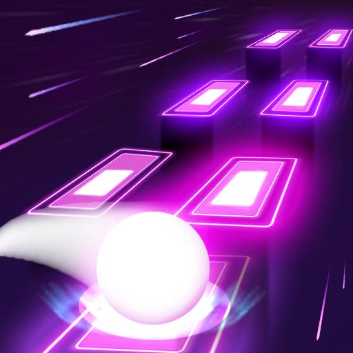 Neon Tiles Hop Color Ball : Forever Dancing Ball Apk Mod latest