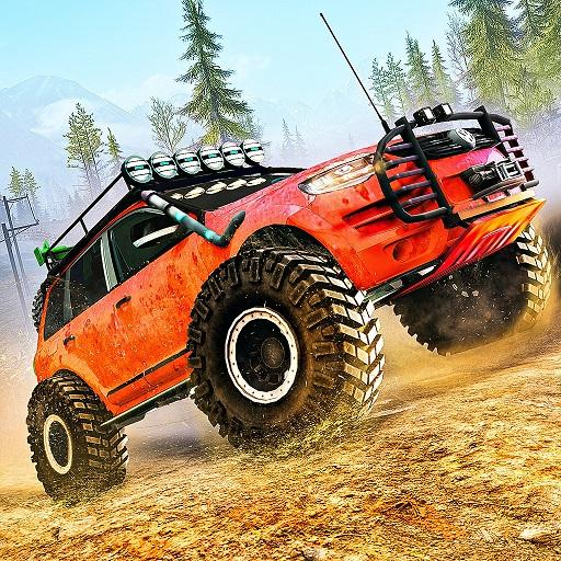 Offroad Jeep Driving Simulator- Racing stunts Game  Apk Mod latest 1.7.1