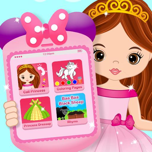 Pink Little Talking Princess Baby Phone Kids Game Apk Pro Mod latest 9.0.1