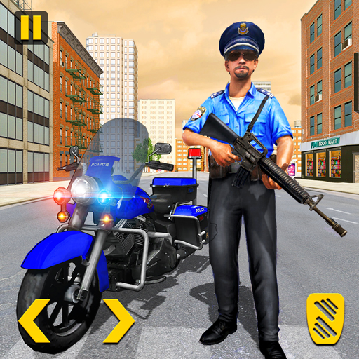 Police Moto Bike Chase Crime Shooting Games  2.0.25 Apk Mod (unlimited money) Download latest