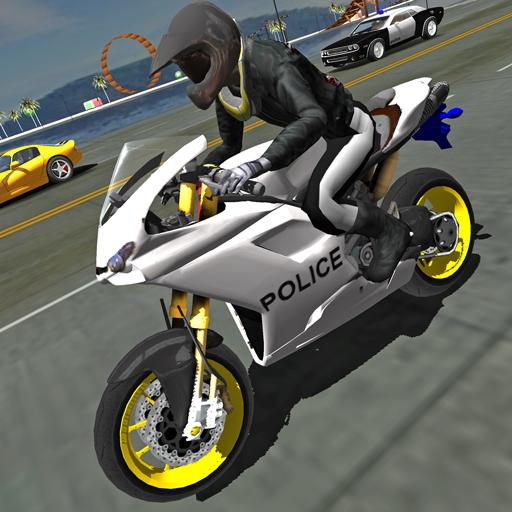 Police Motorbike Traffic Rider Apk Pro Mod latest