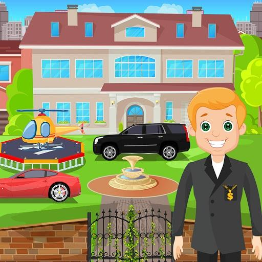 Pretend Play My Millionaire Family Villa Fun Game  Apk Mod latest 1.0.3