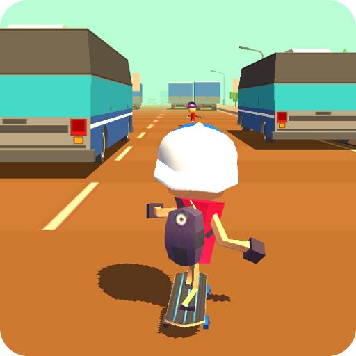 Skateboard King! (Race) Apk Pro Mod latest 1.4.5