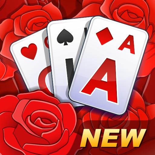 Solitaire TriPeaks Rose Garden – free card game Apk Pro Mod latest 1.0.9
