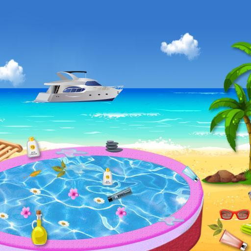 Spa Salon Cleanup Simulator: Pool & Bath Cleaning Apk Pro Mod latest 1.0.7