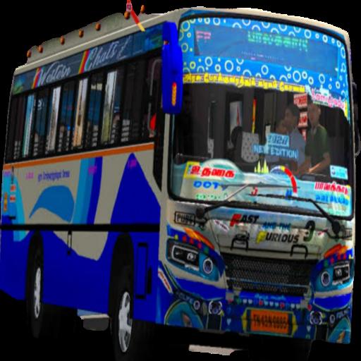 Tamil Bus Mod Livery | Indonesia Bus Simulator  Apk Pro Mod latest 1.2