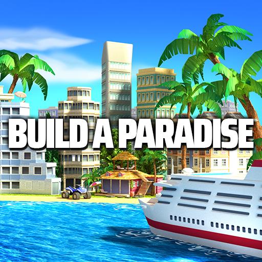 Tropic Paradise Sim: Town Building Game  Apk Mod latest 1.5.3