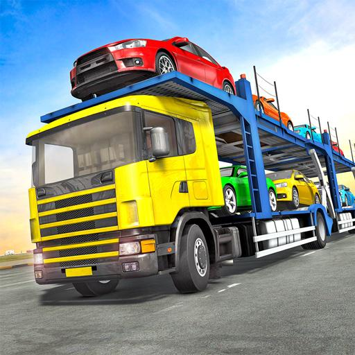 Truck Car Transport Trailer Games  Apk Mod latest 1.10