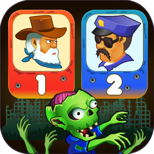Two guys & Zombies (two-player game)  Apk Pro Mod latest 1.2.4