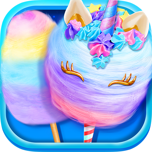 Unicorn Cotton Candy Maker – Rainbow Carnival  Apk Pro Mod latest 1.3