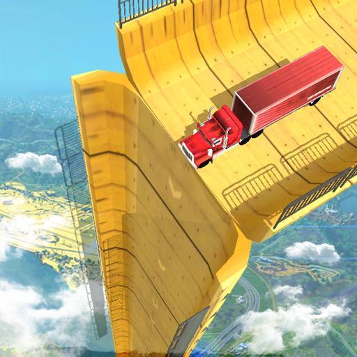 Vertical Mega Ramp Impossible 3D  Apk Pro Mod latest 1.9