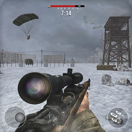 World War 2 Winter Heroes – Free Shooting Games  Apk Mod latest 1.2.0