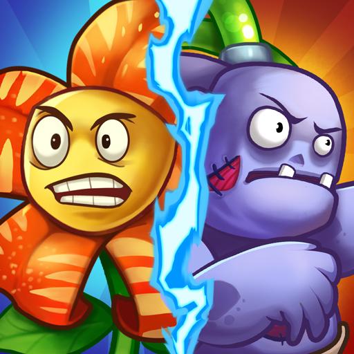 Zombie Defense – Plants War – Merge idle games Apk Mod latest 0.0.9