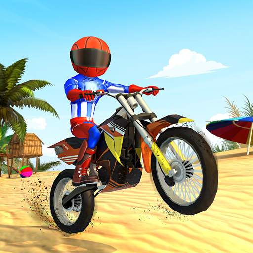 Beach Bike Stunts: Crazy Stunts and Racing Game   Apk Pro Mod latest 5.3