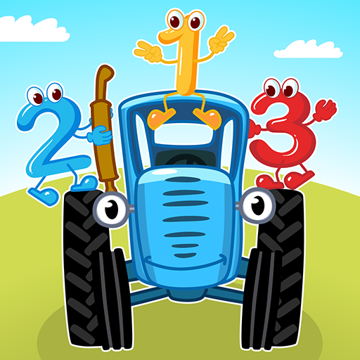 Blue Tractor Games for Toddlers 2 Years Old! Pre K Apk Mod latest