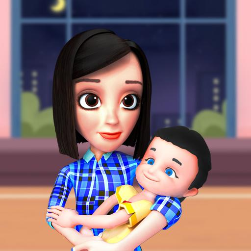 Busy Virtual Mother Simulator 2021 👩 Apk Pro Mod latest
