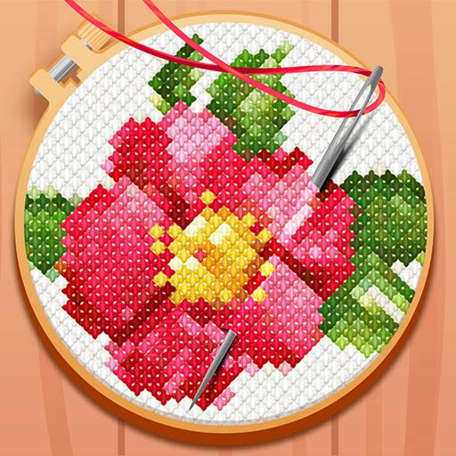 Cross-Stitch: Coloring Book 0.200.450 Apk Mod (unlimited money) Download latest