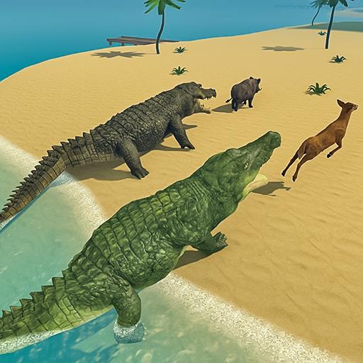 Crocodile Family Simulator Games 2021 Apk Mod latest
