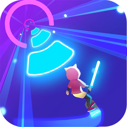 Cyber Surfer Free Music Game – the Rhythm Knight  1.0.91 Apk Mod (unlimited money) Download latest