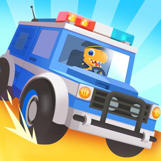 Dinosaur Police Car – Police Chase Games for Kids  Apk Mod latest