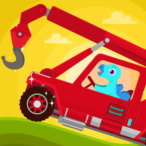 Dinosaur Rescue – Truck Games for kids & Toddlers Apk Mod latest