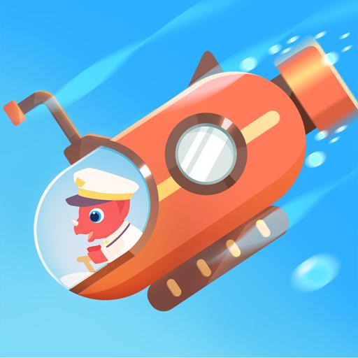 Dinosaur Submarine: Games for kids & toddlers Apk Mod latest