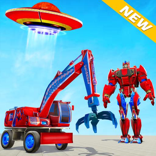 Excavator Robot Car Game – Elephant Robot Games 3d Apk Pro Mod latest 1.2.0