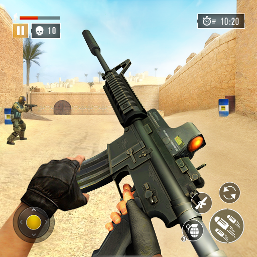 FPS Commando Secret Mission – Free Shooting Games 4.9 Apk Mod (unlimited money) Download latest