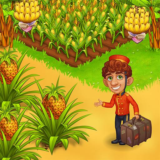 Farm Paradise – Fun farm trade game at lost island  Apk Pro Mod latest