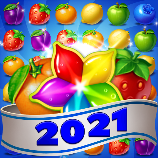 Fruits Farm: Sweet Match 3 games 1.1.8 Apk Mod (unlimited money) Download latest